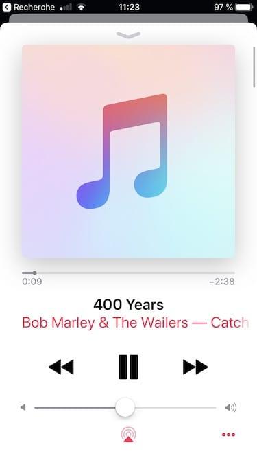 Arreter automatiquement la musique sur iPhone avec Apple Music