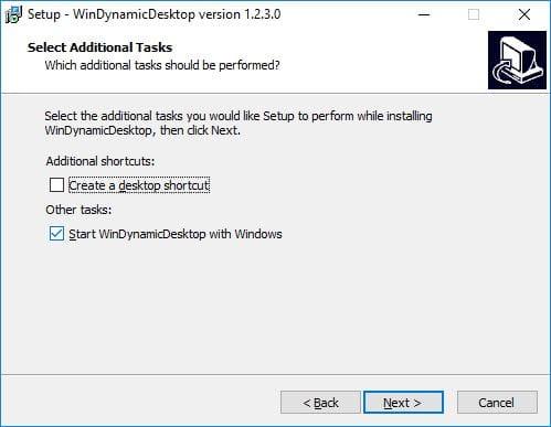 Installer le fond d'écran de macOS Mojave sous Windows setup