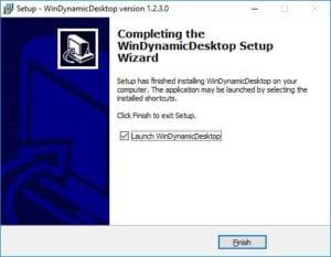 Installer le fond d'ecran de macOS Mojave sous Windows windynamicdesktop