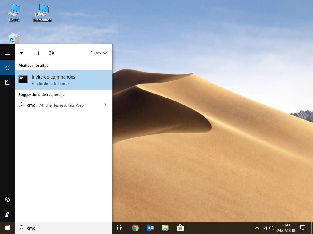 Formater une carte SD de 64 Go en FAT32 sous Windows Cmd