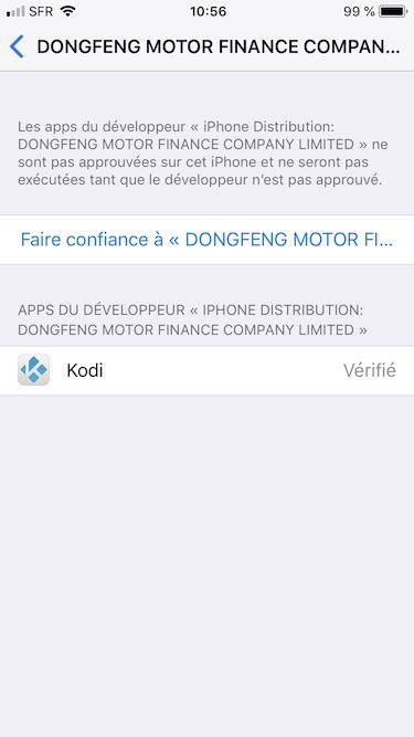 Installer Kodi sur iPhone et iPad rapidement