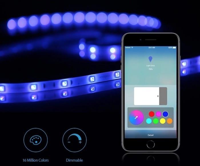 Koogeek Smart Light Strip multicolore