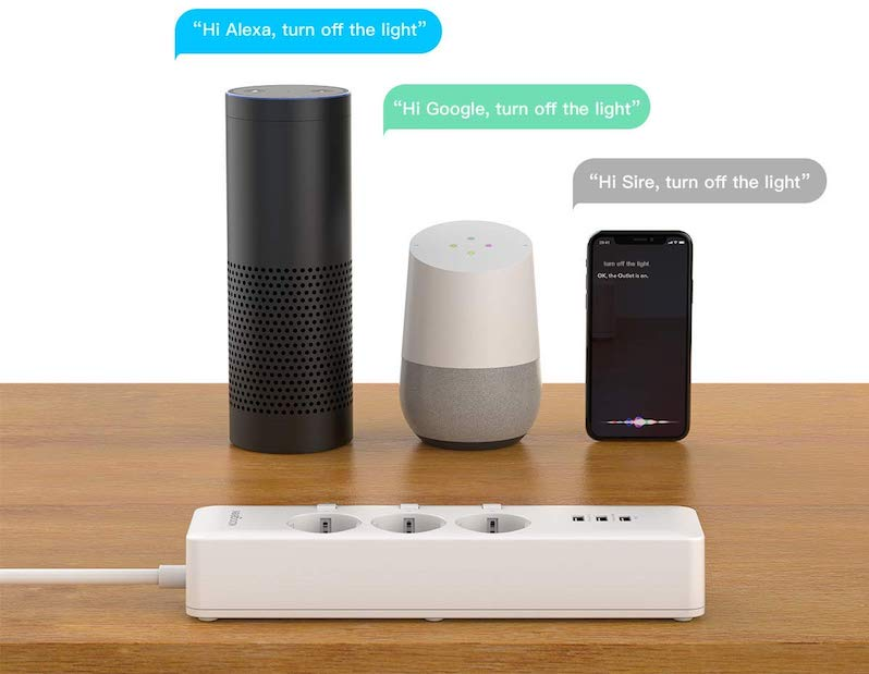 Koogeek Smart Outlet O1EU Homepod google assistant Alexa