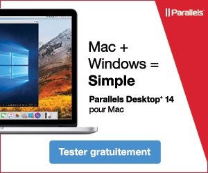 Parallels Desktop 14 Windows sur Mac