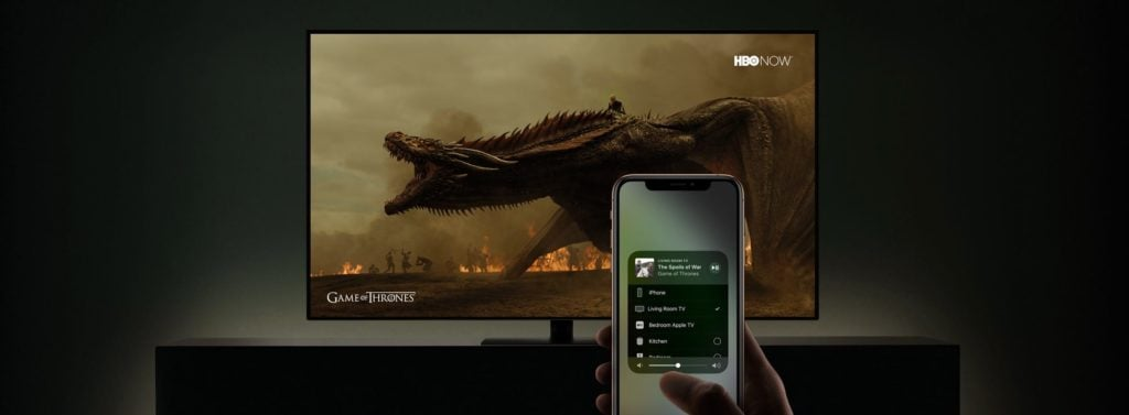 TV AirPlay streaming video sans apple tv