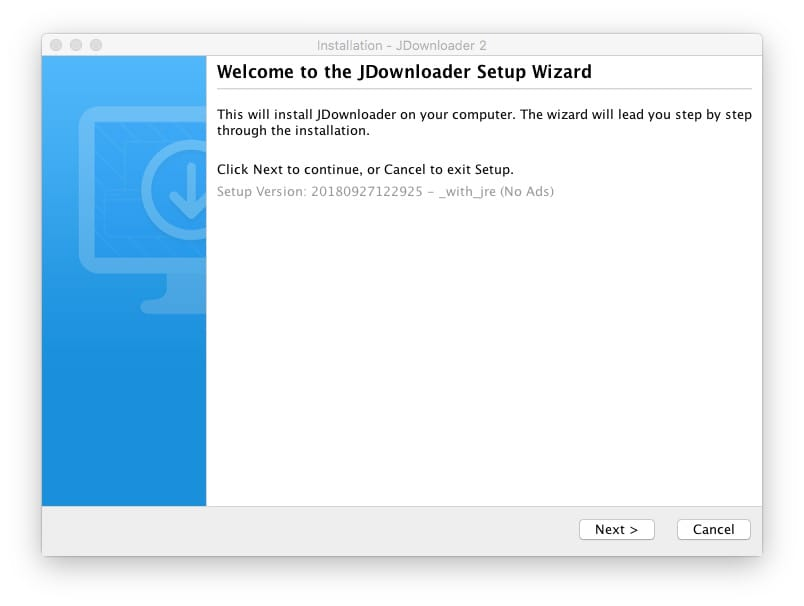 Jdownloader mac setup wizard