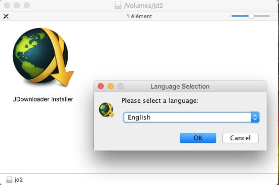 installer jdownloader sur mac english