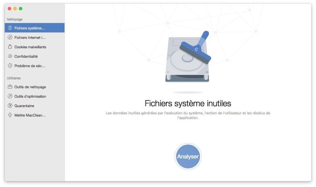 libérer de l'espace sur son Mac fichiers système inutiles