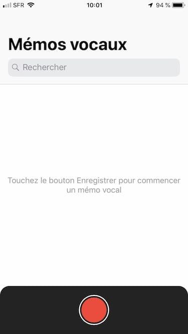 Utiliser le Dictaphone de son iPhone tutoriel