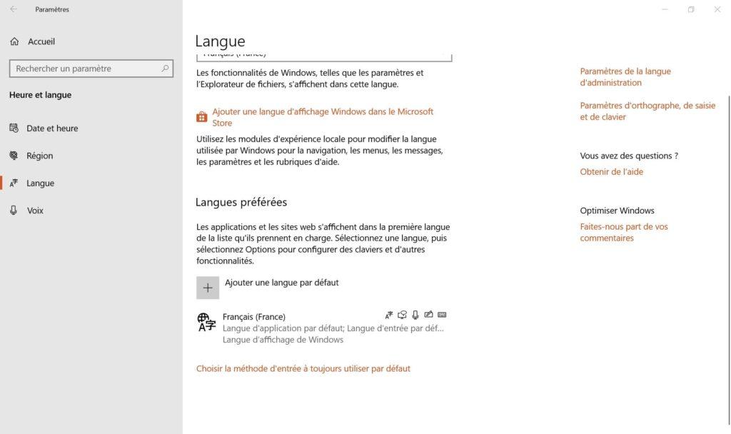 configurer clavier apple mac sous windows 10