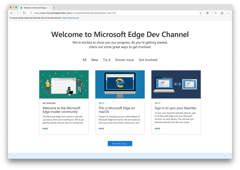 microsoft edge sur mac navigateur internet