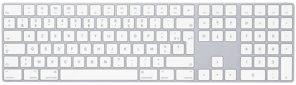 Connecter un clavier Bluetooth au Mac