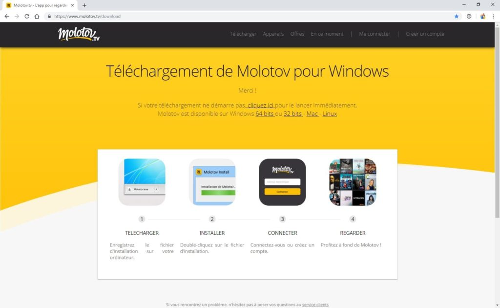 Regarder la TV sur Windows 10 avec Molotov