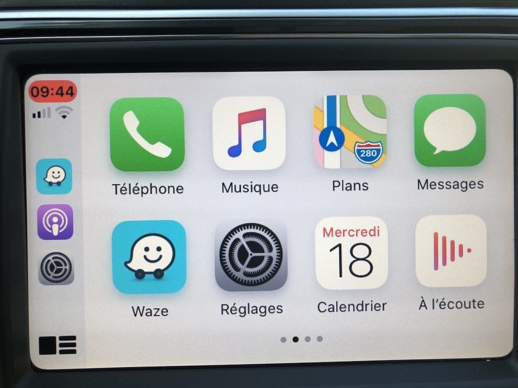 apps Apple CarPlay integrees