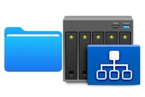 Connecter un serveur de fichiers sur iPhone ou iPad avec app Fichiers ios13 ipados13