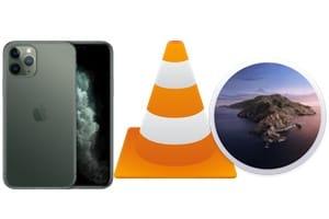 Copier des vidéos avec VLC Mac sur iPhone sans iTunes sous macos catalina 10.15