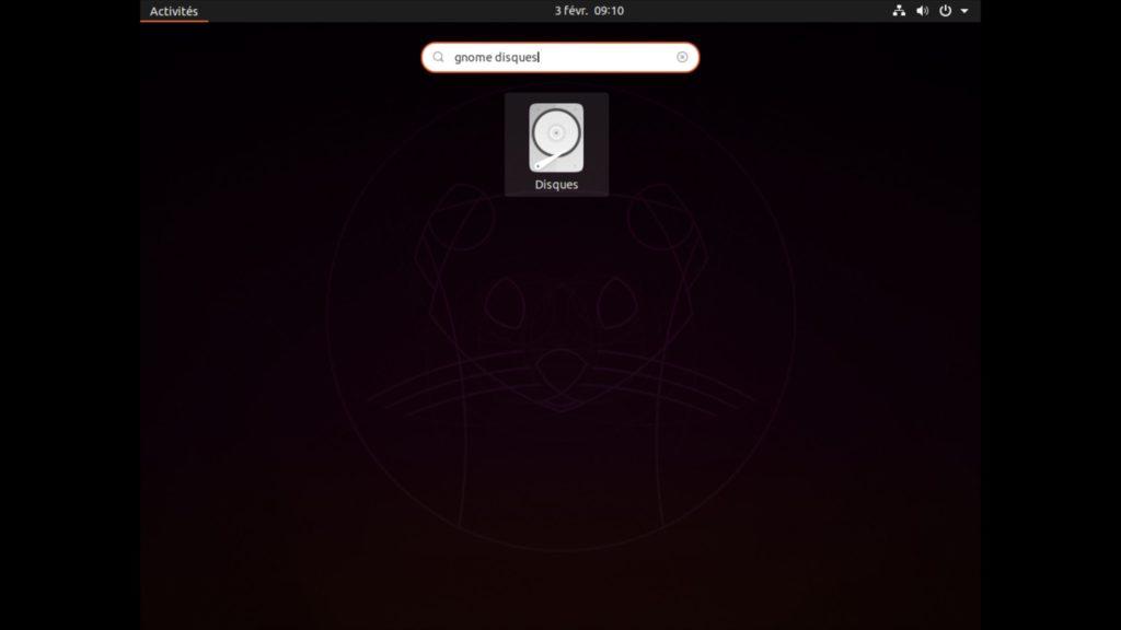 Formater une cle USB sur Ubuntu avec gnome disks tutoriel
