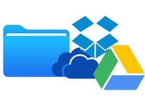 Ajouter un service de stockage externe dans l'app Fichiers sur iPhone (Google Drive, Dropbox, Microsoft OneDrive)