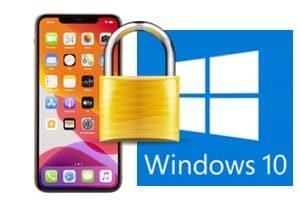 Verrouiller automatiquement Windows 10 avec son iPhone