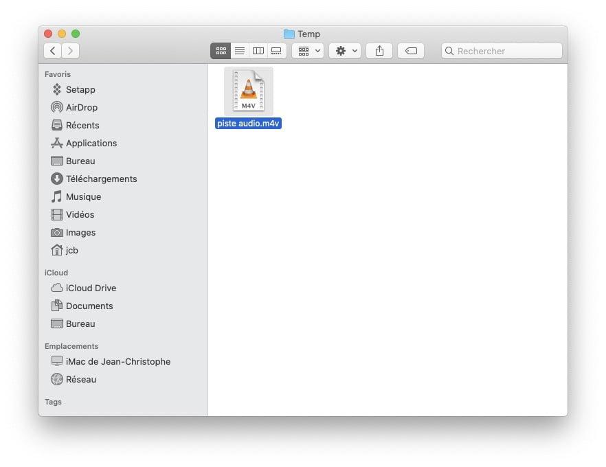 mac extraire audio d une video avec vlc mac
