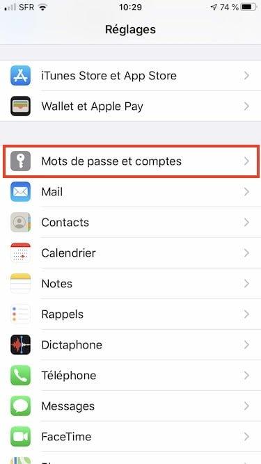 Changer le gestionnaire de mot de passe Trousseau iCloud sur iPhone iPad iPod touch