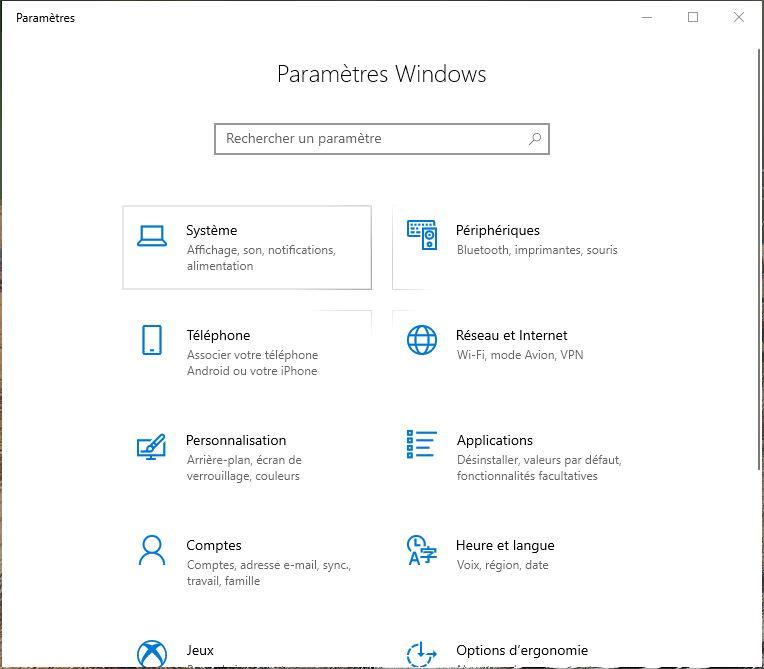 Changer les DNS de Windows Reseaux et Internet