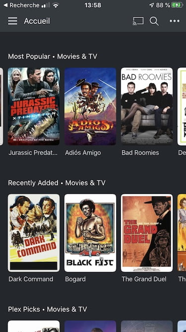 plex free movies iphone