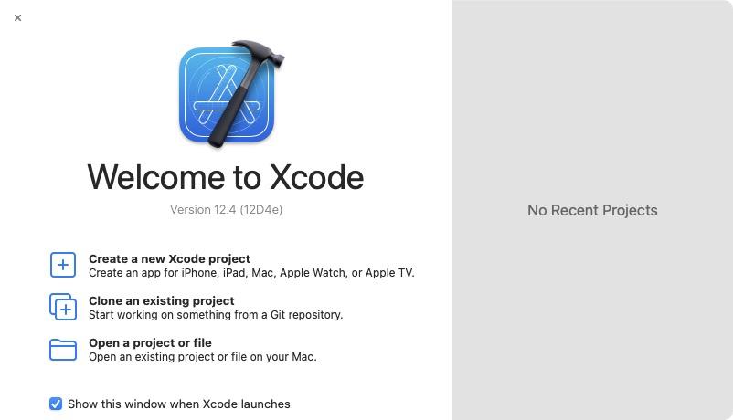 Xcode 12.4 macOS installer