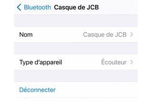 Renommer un accessoire Bluetooth sur iPhone / iPad / Mac