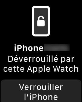 deverrouille par cette Apple Watch