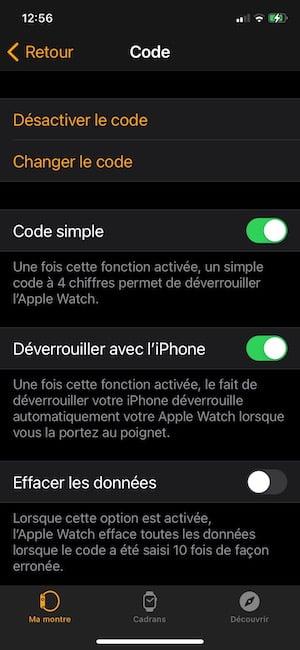 deverrouiller avec liPhone activation