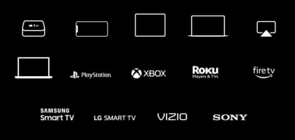Liste des appareils compatibles Apple TV +