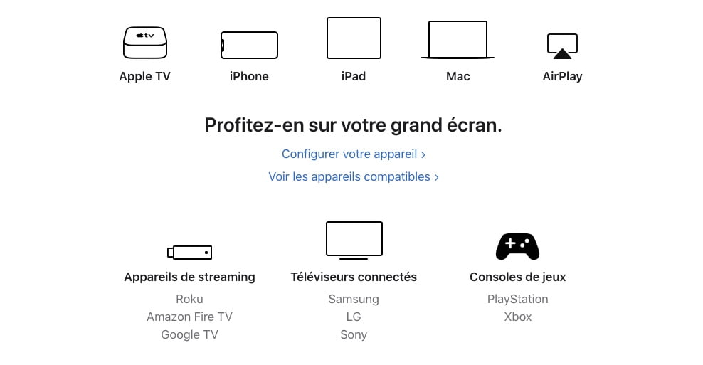tous les moyens de regarder Apple TV+
