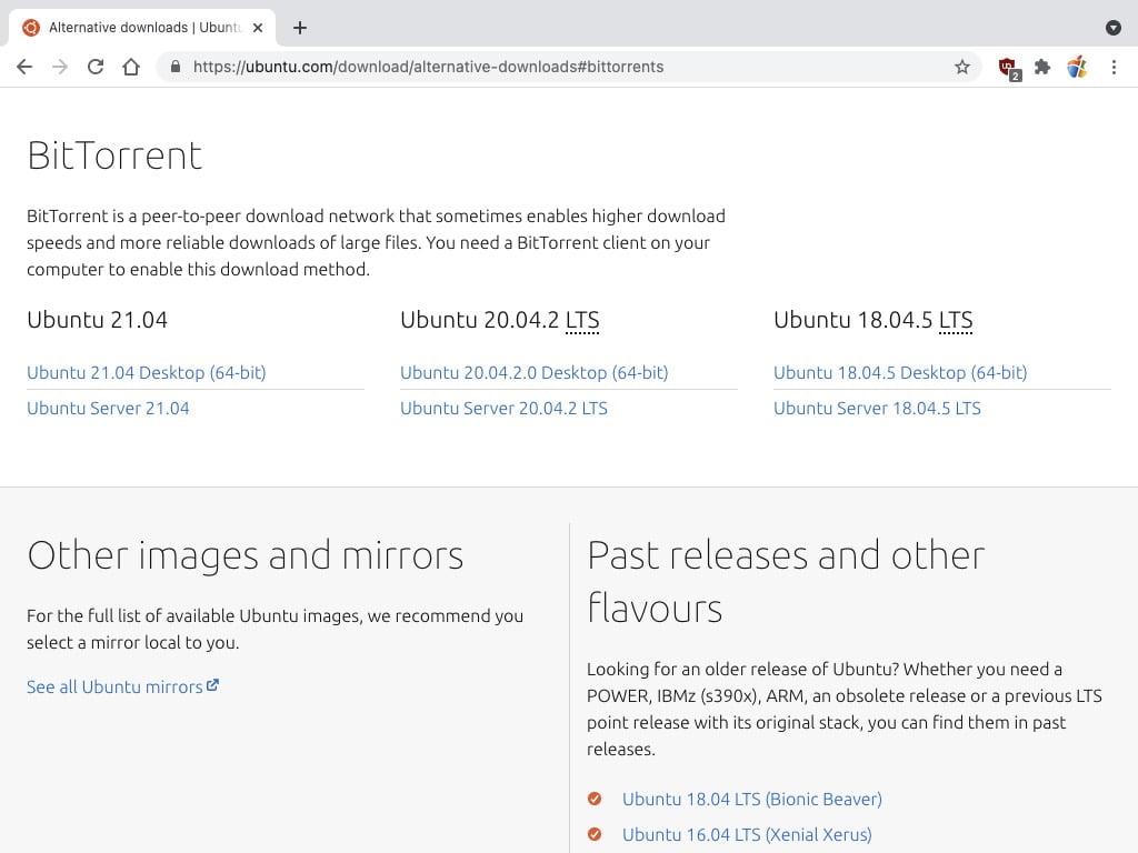 telecharger ubuntu bittorrent avec utorrent web